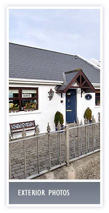 click here for exterior photos of the White Cottages and views from our Bed and Breakfast